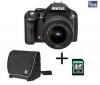 PENTAX K-x čierny + objektív DA 18-55 mm f/3,5-5,6 AL + taška 50099 + karta SDHC 4 GB
