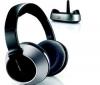 PHILIPS Bezdrôtové Hi-Fi slúchadlá SHC8525 + Slúchadlá STEALTH - čierne