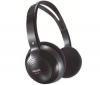 PHILIPS Bezdrôtové slúchadlá SHC1300/00 - čierne  + Stereo slúchadlá s digitálnym zvukom (CS01)