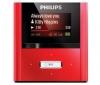 PHILIPS MP3 prehrávač GoGear RaGa 2 GB - červený