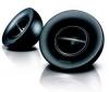 PHILIPS Reproduktory 2.0 SBP1100 + Rozdeľovací kábel pre slúchadlá alebo reproduktory + Kábel RCA Jack stereo samec/samec - 2 m