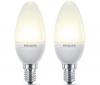 PHILIPS Sada  2 úsporných žiaroviek 8 W E14 Eco Ambiance