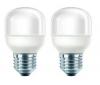 PHILIPS Sada  2 úsporných žiaroviek 8 W E27 Eco Ambiance