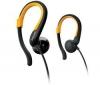 PHILIPS Slúchadlá SHS4800/10 - čierne/žlté