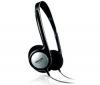 PHILIPS Slúchadlá TV SHP1800 + Adaptér Jack samica stereo 3,52 mm kovový/Jack samec stereo 6,35 mm kovový - Pozlátený