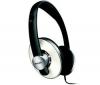 PHILIPS Stereo slúchadlá SHP5401/00 - čierna/kov