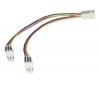 PIXMANIA Adaptér 8DD-8/PS Y pre ventilátor 3 pins