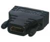 PIXMANIA Adaptér HDMI samica / DVI-D samec CG-281HQ - pozlátená koncovka