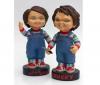 PIXMANIA Chucky - Bobbing-Head Peggy Bank Soft Vinyl