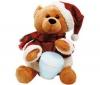 PIXMANIA Hrajúci vianočný medvedík