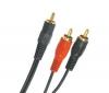 PIXMANIA Kábel 1 RCA samec/2 RCA samci - 2 m (44113P)