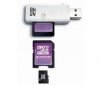 PIXMANIA Pamäťová karta microSD 2 GB + adaptér SD + cítacka USB