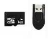 PIXMANIA Pamäťová karta microSD 4 GB + cítacka USB