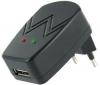 PIXMANIA Sieťová nabíjačka USB + Kábel RCA Jack stereo samec/samec - 2 m
