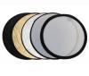 PIXMANIA Svetlomet  5-v-1 skladací okrúhly 120 cm