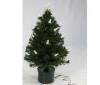 PIXMANIA Vianočný stromček z optických vlákien so svieckami- 90 cm