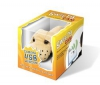 PIXMANIA Webkamera Sweety-Cam pes USB + Hub USB Plus 4 Porty USB 2.0 Mac/PC - hnedý