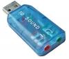 POWER STAR Externá zvuková karta USB chipset CMEDIA CL-SU4CHA + Kábel RCA Jack stereo samec/samec - 2 m