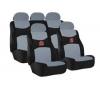 RACE SPORT Sada potahy na sedadlá  + bezpecnostné pásy + volant
