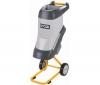 RYOBI Elektrický drvic záhradného odpadu 2400W RSH2400R + Záhradný vozík na kolieskach a s poklopom, objem 80 litrov PRCARJ
