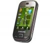 SAMSUNG B5722 - čierny + Pamäťová karta MicroSD 2 GB + adaptér SD