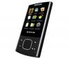 SAMSUNG MP3 prehrávač R'play YP-R0JCB 8 GB čierny + Medzinárodná nabíjačka s dvojitou zásuvkou USB QD-813