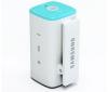 SAMSUNG MP3 prehrávač TicToc YP-S1QLV 2 GB - modrý/biely