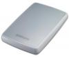 SAMSUNG Prenosný externý pevný disk  S2 500 GB Biely + Kábel HDMI samec / HMDI samec - 2 m (MC380-2M) + WD TV HD Media Player