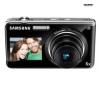 SAMSUNG ST600 - Digital camera - compact - 14.2 Mpix - optical zoom: 5 x - supported memory: microSD, microSDHC - black + Kompaktné kožené puzdro Pix 11 x 3,5 x 8 cm + Pamäťová karta SDHC 8 GB + Mini trojnožka Pocketpod