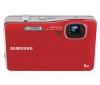 SAMSUNG WP10 - červený + Kompaktné kožené puzdro Pix 11 x 3,5 x 8 cm + Pamäťová karta SDHC 8 GB