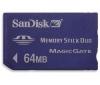 SANDISK Pamäťová karta Memory Stick Duo 64 MB