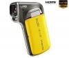 HD videokamera Xacti CA100 žltá + Brašna + Batéria DB-L80AEX + Pamäťová karta SDHC 8 GB
