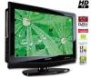 SHARP Kombinácia LCD/DVD LC-32DV200E + Stolík na televízor Esse Mini - frosted