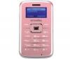 SIMVALLEY Pico Inox RX-180 -  ružový  + Univerzálna nabíjačka Multi-zásuvka - Swiss charger V2 Light