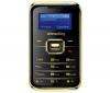 SIMVALLEY Pico Inox RX-180 - zlatý  + Univerzálna nabíjačka Multi-zásuvka - Swiss charger V2 Light