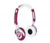 SKULLCANDY Audio slúchadlá Lowrider - cervené  + Predl?ovaeka Jack 3,52 mm -nastavenie hlasitosti a inter mono/stereo - Pozlátený - 3 m