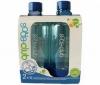 SODA STREAM 2 plastové fľaše 3000025 + Sirup Soda Club zelený citrón light