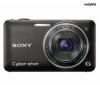 SONY Cyber-shot   DSC-WX5 - Digital camera - compact - 12.2 Mpix - optical zoom: 5 x - supported memory: MS Duo, SD, MS PRO Duo, SDXC, MS PRO Duo Mark2, SDHC, MS PRO-HG Duo - black + Púzdro LCS-CSVB čierne + Pamäťová karta SDHC 8 GB