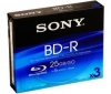 SONY Disk Blu-ray BD-R BNR25B 25 GB (3 ks)