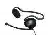 SONY DR G240DPV - slúchadlá s mikrofónom - čierne + Kábel USB 2.0 A samec/samica - 5 m (MC922AMF-5M)