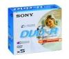 SONY DVD-R 30mn 1,4 GB (balenie po 5 ks)