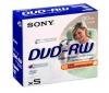 SONY DVD-RW 30mn 1,4 GB (balenie 5 ks)