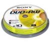 SONY DVD+RW 4,7 GB 16x (balenie 10 ks)