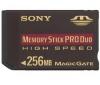 SONY Pamäťová karta Memory Stick Duo PRO High Speed 256 MB