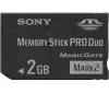 SONY Pamäťová karta Memory Stick Pro Duo 2GB MSMT2GN