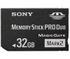 SONY Pamäťová karta Memory Stick Pro Duo Mark 2 čierna 32 GB