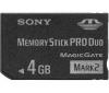 SONY Pamäťová karta Stick Pro Duo 4GB MSMT4GN