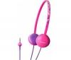 SONY Slúchadlá MDR-370LP - Ružové  + Predl?ovaeka Jack 3,52 mm -nastavenie hlasitosti a inter mono/stereo - Pozlátený - 3 m