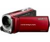 SONY Videokamera DCR-SX34 červená  + Brašna + Pamäťová karta SDHC 8 GB