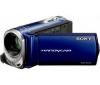 SONY Videokamera DCR-SX34 modrá + Čítačka kariet 1000 & 1 USB 2.0 + Brašna + Pamäťová karta SDHC Ultra II 4 GB